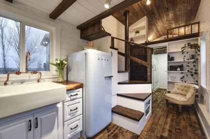 53 Clever Loft Stair Design for Tiny House Ideas