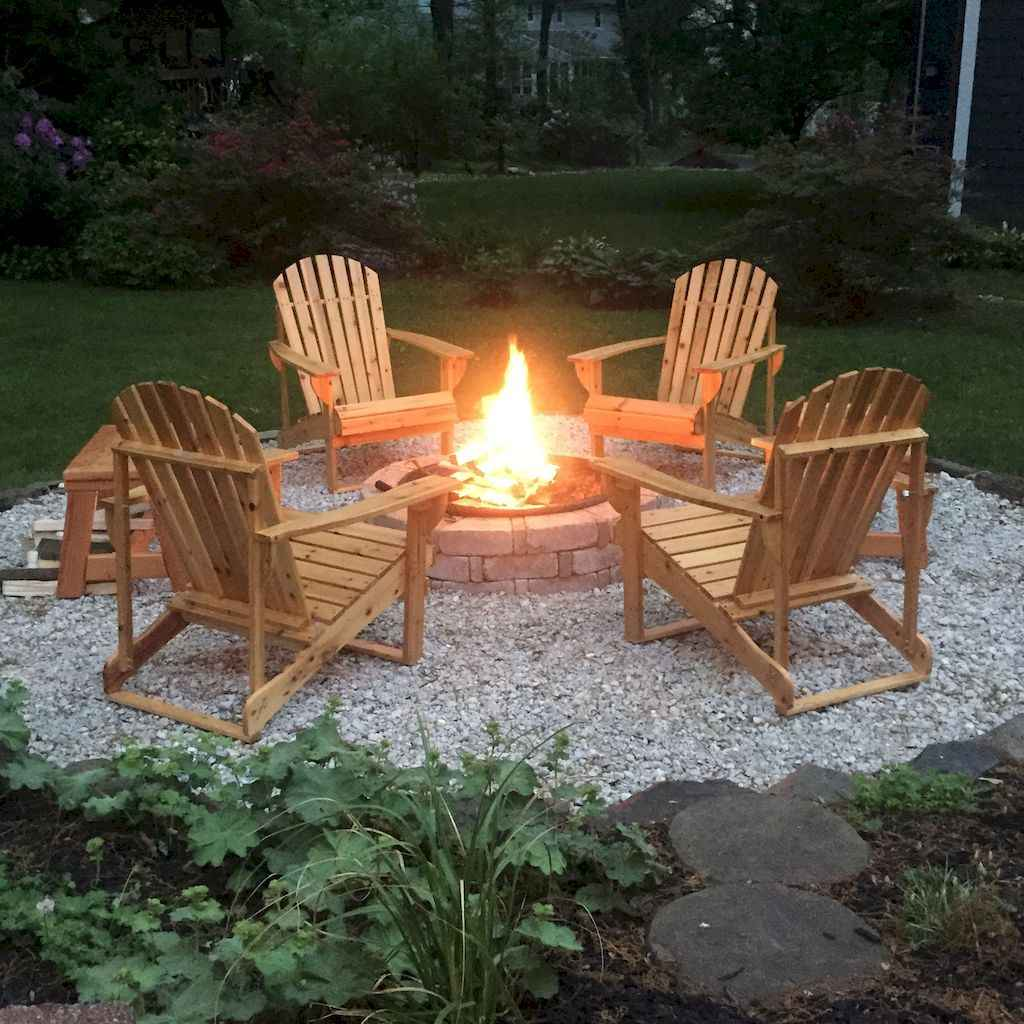 60 Awesome Backyard Fire Pits with Seating Ideas