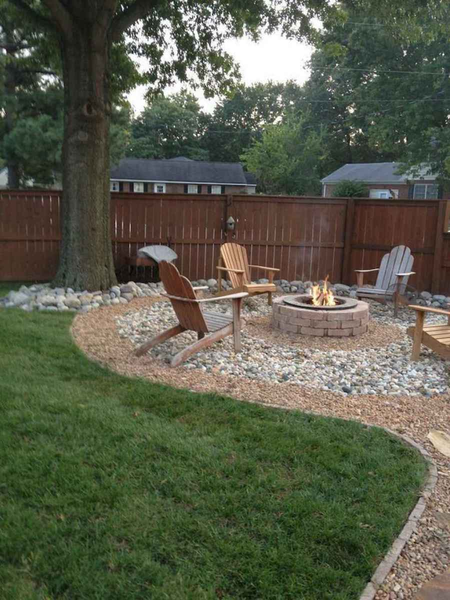 61 Awesome Backyard Fire Pits with Seating Ideas
