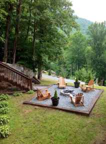 64 Awesome Backyard Fire Pits with Seating Ideas