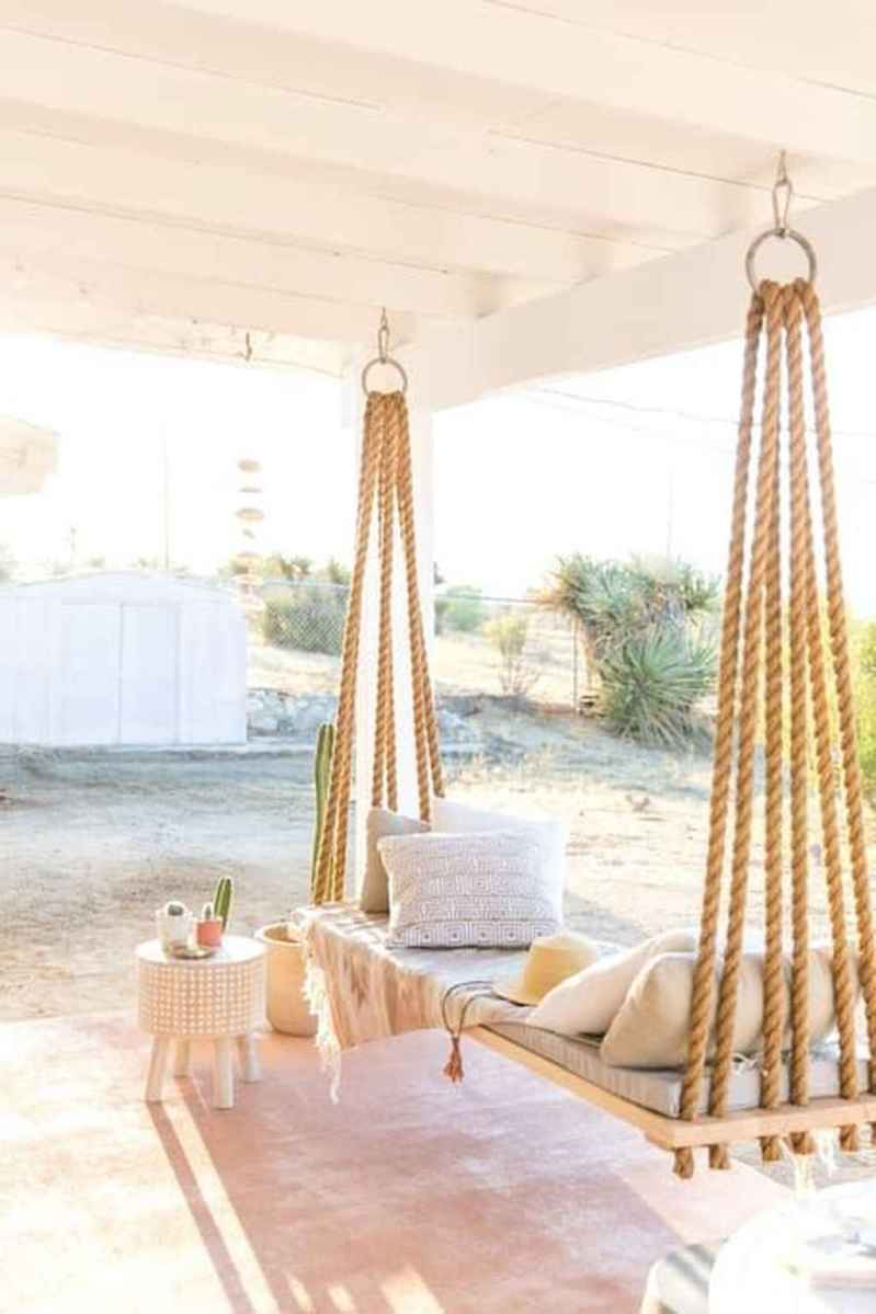 03 Awesome Farmhouse Porch Swing Plans Ideas