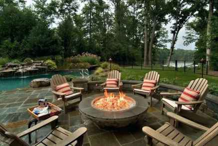 06 Easy Cheap Backyard Fire Pit Seating Area Design Ideas