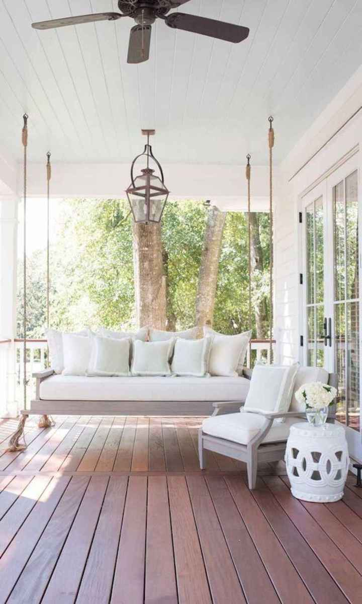 09 Awesome Farmhouse Porch Swing Plans Ideas