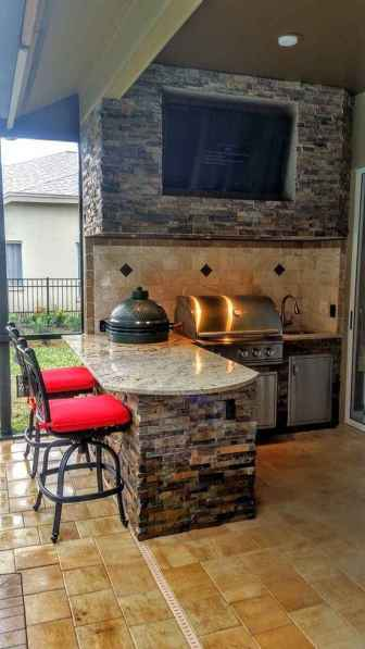 09 Awesome Outdoor Kitchen and Grill Backyard Ideas for Summer