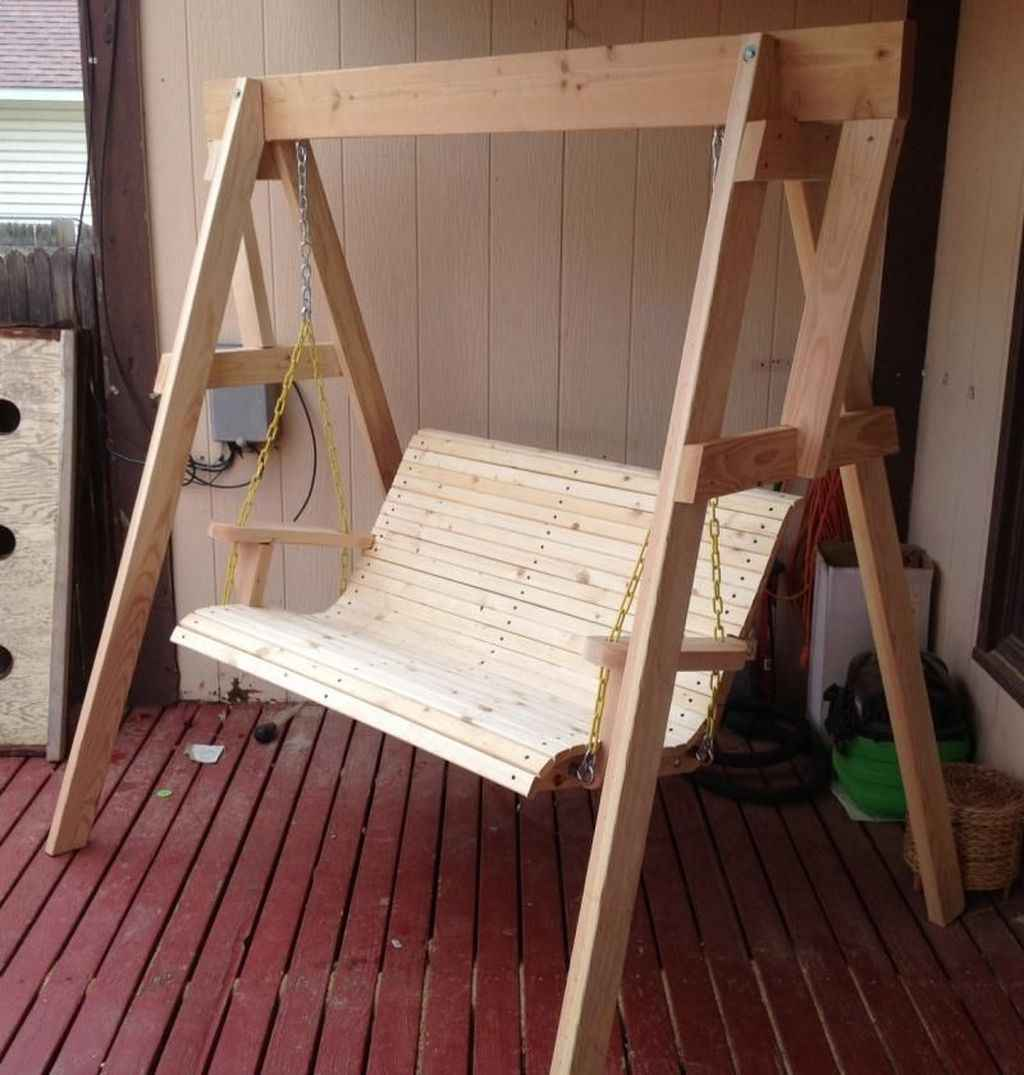 14 Awesome Farmhouse Porch Swing Plans Ideas