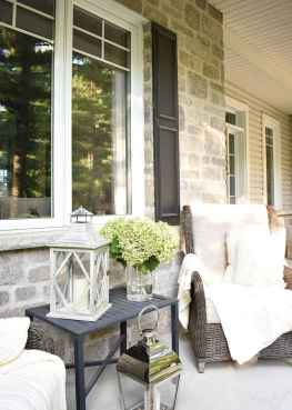 21 Small Front Porch Seating Ideas for Farmhouse Summer