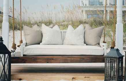 22 Awesome Farmhouse Porch Swing Plans Ideas