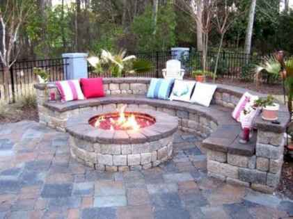 24 Easy Cheap Backyard Fire Pit Seating Area Design Ideas
