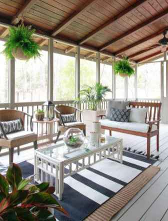 24 Gorgeous Farmhouse Screened In Porch Design Ideas for Relaxing