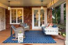 25 Small Front Porch Seating Ideas for Farmhouse Summer
