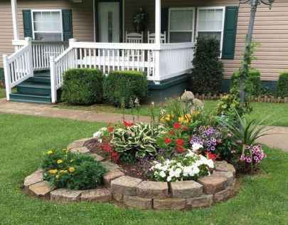 30 Fresh and Beautiful Front Yard Flowers Garden Landscaping Ideas