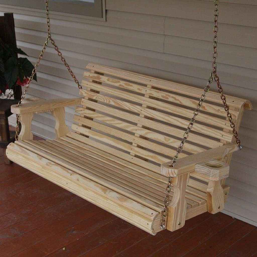 33 Awesome Farmhouse Porch Swing Plans Ideas