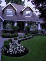 34 Fresh and Beautiful Front Yard Flowers Garden Landscaping Ideas