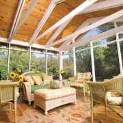34 Gorgeous Farmhouse Screened In Porch Design Ideas for Relaxing