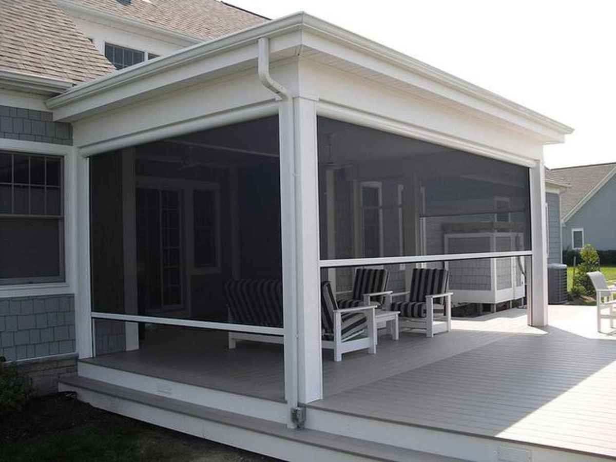 41 Gorgeous Farmhouse Screened In Porch Design Ideas for Relaxing