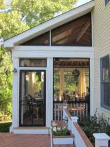 43 Gorgeous Farmhouse Screened In Porch Design Ideas for Relaxing