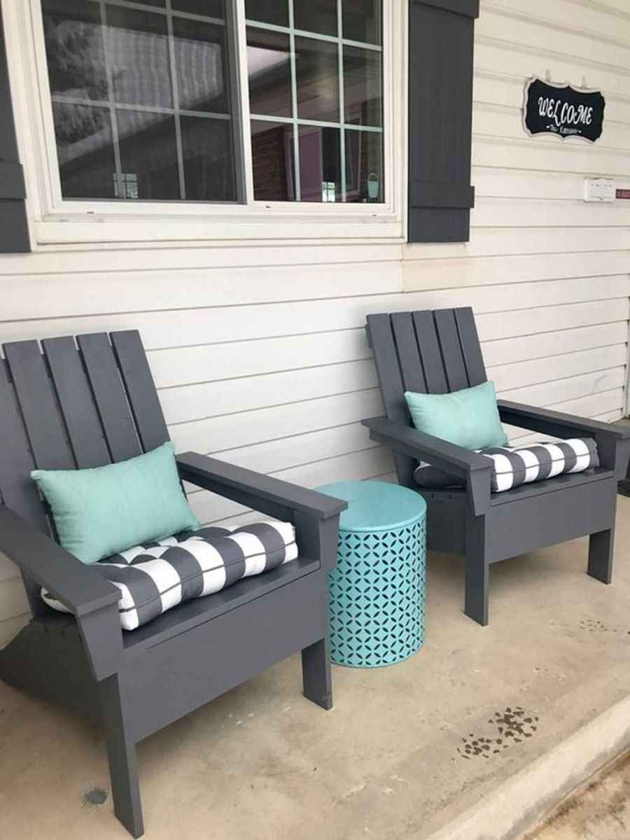 43 Small Front Porch Seating Ideas for Farmhouse Summer