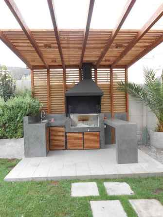 46 Amazing Outdoor Kitchen Design for Your Summer Ideas