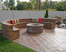 46 Easy Cheap Backyard Fire Pit Seating Area Design Ideas