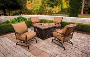 53 Easy Cheap Backyard Fire Pit Seating Area Design Ideas