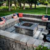 59 Easy Cheap Backyard Fire Pit Seating Area Design Ideas