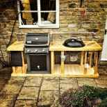 60 Awesome Outdoor Kitchen and Grill Backyard Ideas for Summer