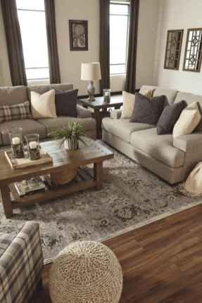 60 Best Modern Farmhouse Living Room Rug Decor Ideas