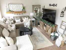 62 Best Modern Farmhouse Living Room Rug Decor Ideas