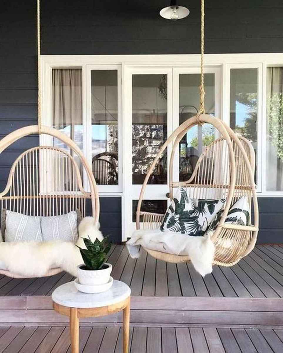 69 Awesome Farmhouse Porch Swing Plans Ideas