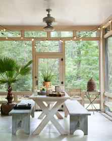 75 Gorgeous Farmhouse Screened In Porch Design Ideas for Relaxing