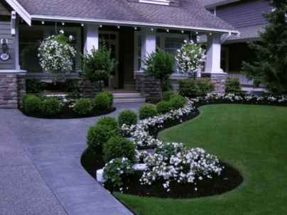 77 Fresh and Beautiful Front Yard Flowers Garden Landscaping Ideas
