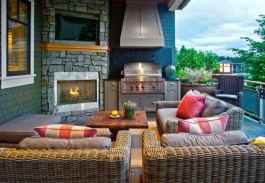 81 Awesome Outdoor Kitchen and Grill Backyard Ideas for Summer