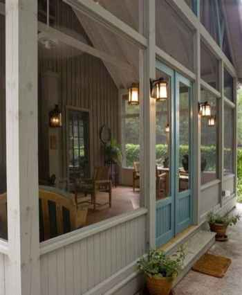 84 Gorgeous Farmhouse Screened In Porch Design Ideas for Relaxing