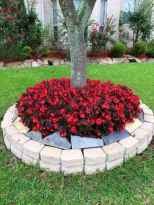 88 Fresh and Beautiful Front Yard Flowers Garden Landscaping Ideas