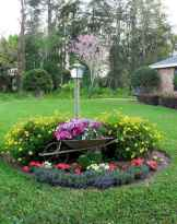 89 Fresh and Beautiful Front Yard Flowers Garden Landscaping Ideas
