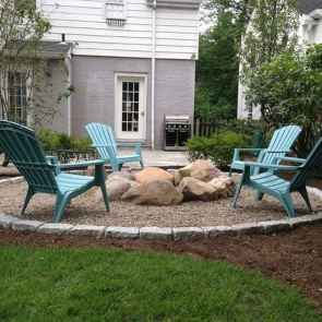 93 Easy Cheap Backyard Fire Pit Seating Area Design Ideas