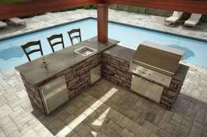 94 Awesome Outdoor Kitchen and Grill Backyard Ideas for Summer