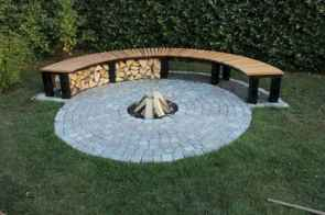 94 Easy Cheap Backyard Fire Pit Seating Area Design Ideas