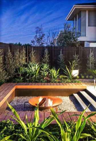 95 Easy Cheap Backyard Fire Pit Seating Area Design Ideas