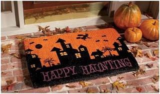 felpudo para decorar en halloween