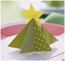 nombres de mesa en Navidad