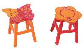 taburetes infantiles para decorar habitaciones de niños