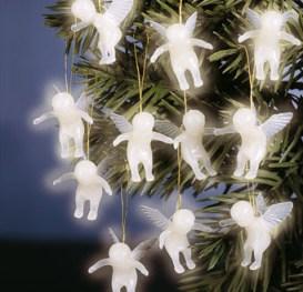angelitos para adornar el arbol de navidad