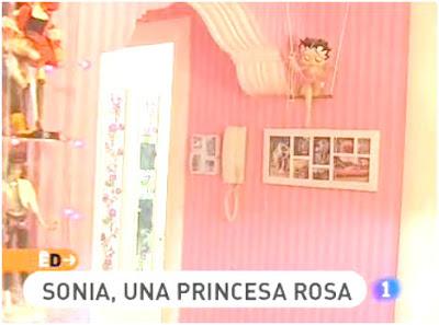 decoracion rosa de la casa de una chica