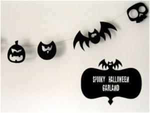 guirnalda decorativa de Halloween