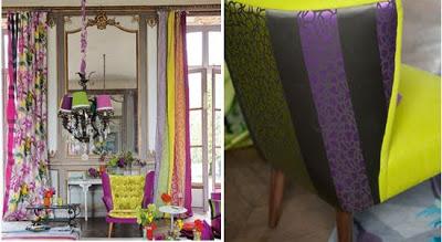 telas para decoracion de otoño invierno