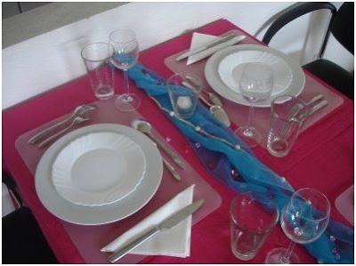 como decorar la mesa