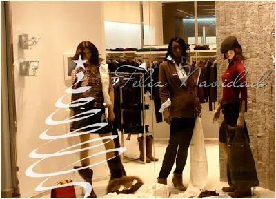 Como decorar el escaparate de una Tienda en Navidad