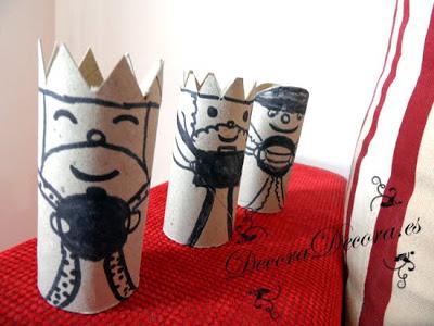 decorar y reciclar en el dia de reyes