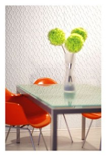 decorar paredes con paneles con relieve